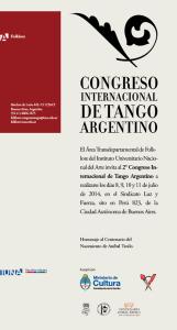 Congreso de Tango IUNA 2014