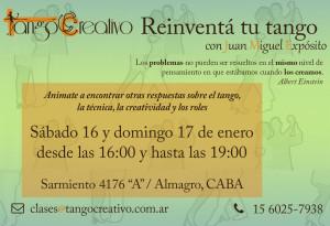 Reinventá tu tango en enero